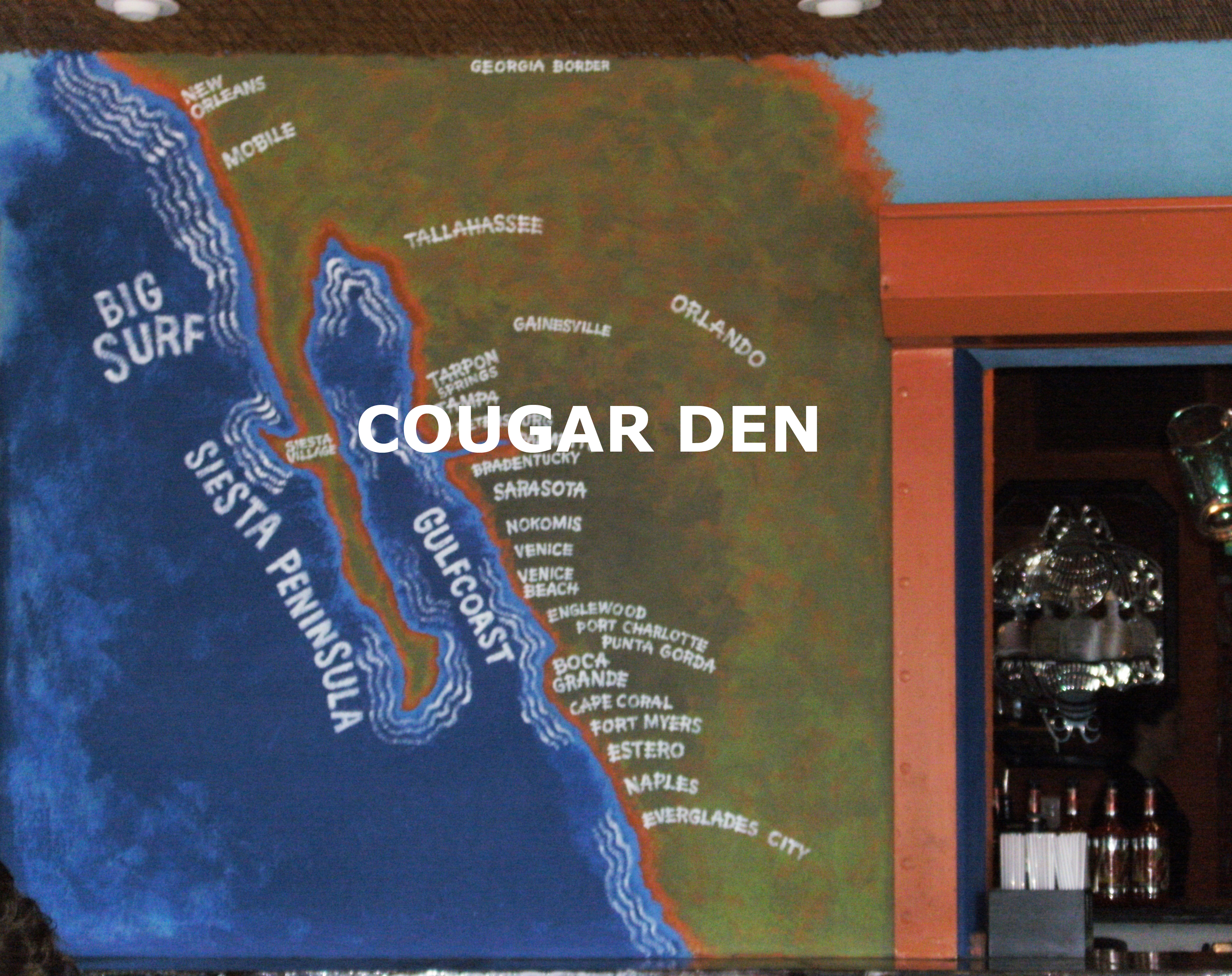 Cougar Town Adgals Blog - Map of florida beach towns